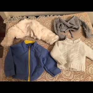 Lot of American girl clothes and shoes